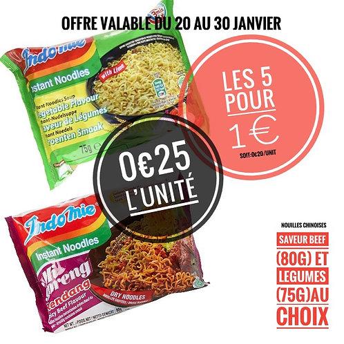 Lot bœuf 🐂 6 pour 1€  engagement 0,50