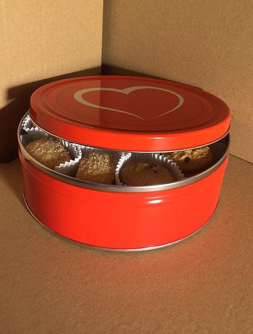 Biscuits au beurre et aux pépites de chocolats 454g