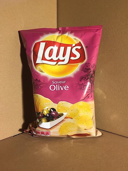 Chips saveur olive  0€79 les 120g