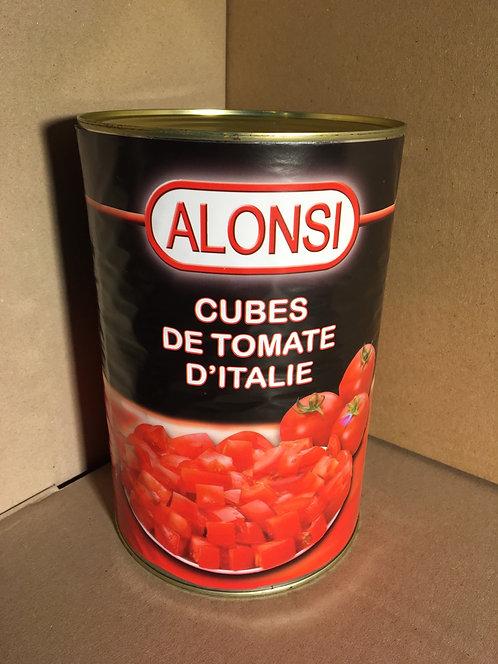 Cubes de tomates 4100g