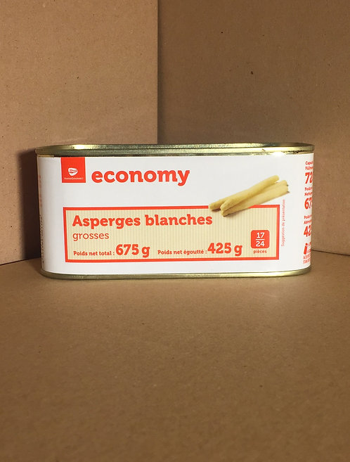 Asperges blanches 1€99 les 675g