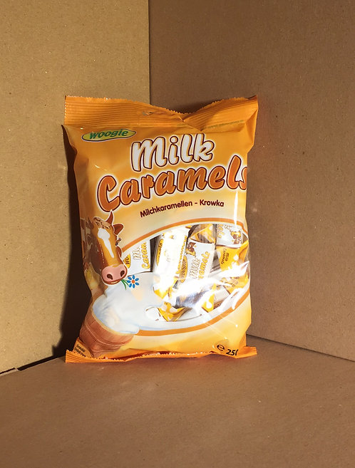 Caramels au lait 1€09 les 250g