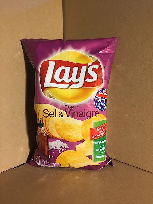 Chips saveur sel vinaigre 0€79 les 145g