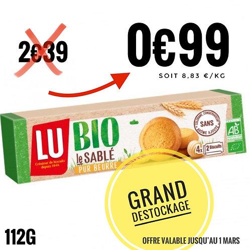 LU bio 112g sable 0€99 engagement 0€50