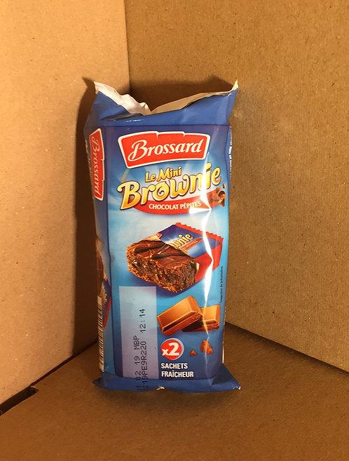 Brownies aux pépites de chocolat  60 g 5 pour 1€