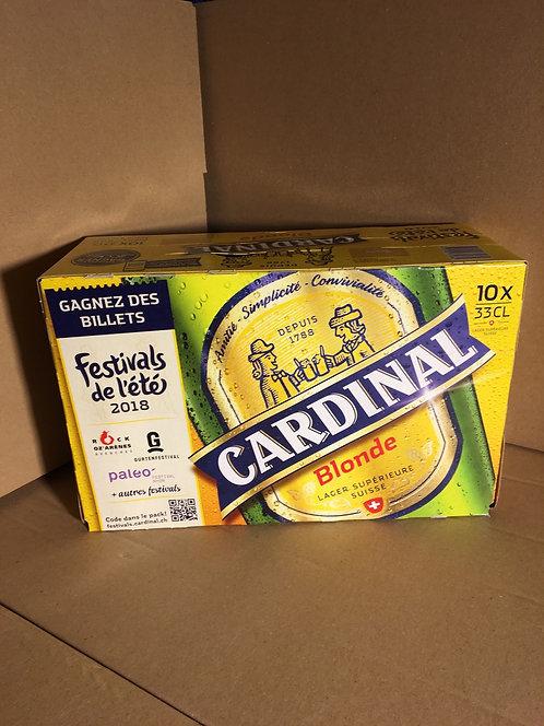 Biere blonde 4.8% Pack de 10x33cl