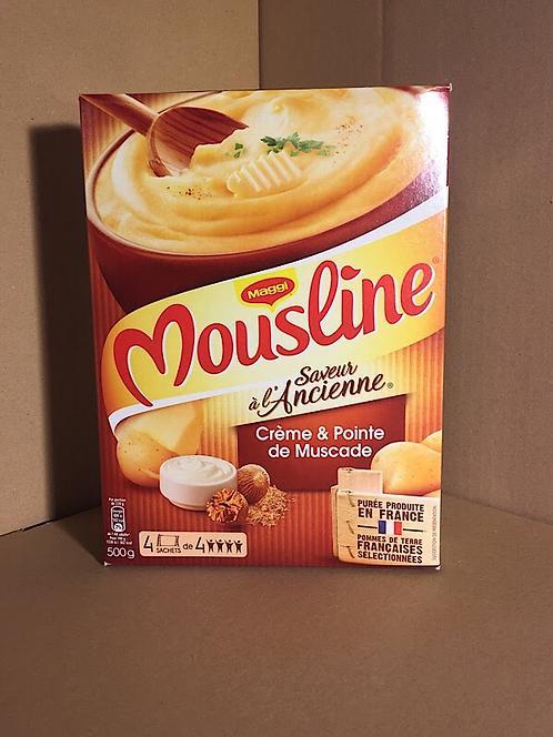 Purée Mousline saveur à l'ancienne X4 sachets  500g ( 3€16/kg)
