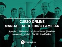 Curso Online Holding Familiar