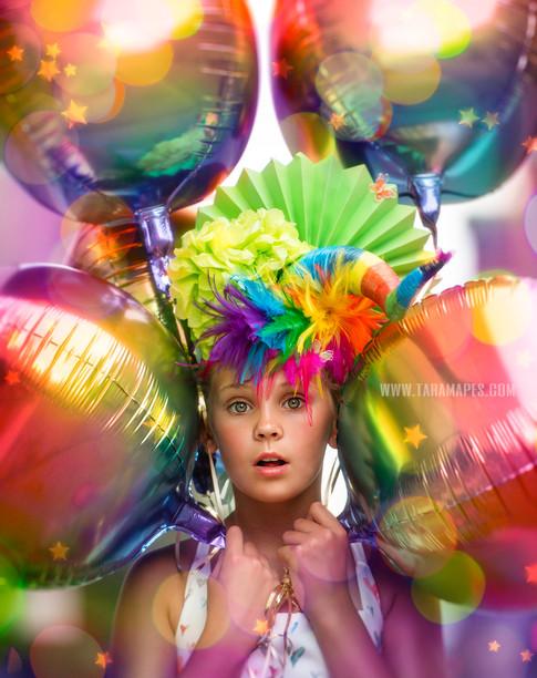 balloons up close social media