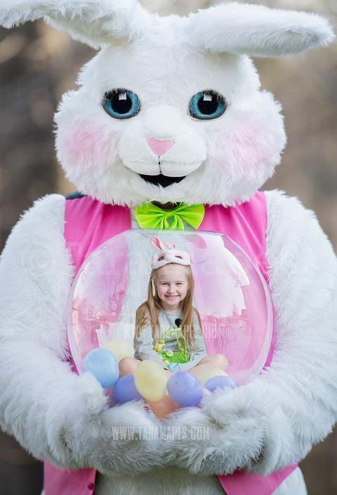 Easter Bunny Snow Globe Tara Mapes MY COPY