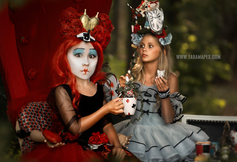 queen and alice tea social media