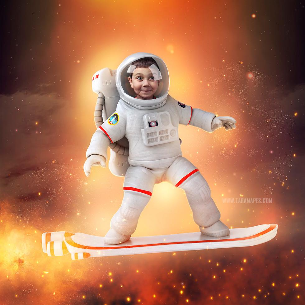 Astronaut Surfer Tara Mapes