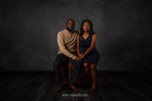 Couple sit WATERMARK