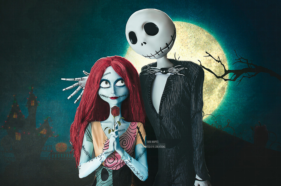 Jack and Sally flattened