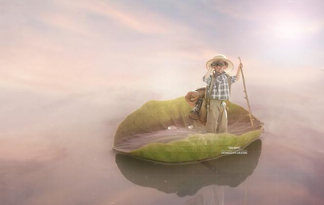 Lilypad boat