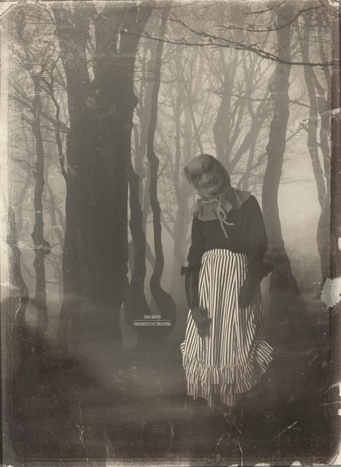 In woods