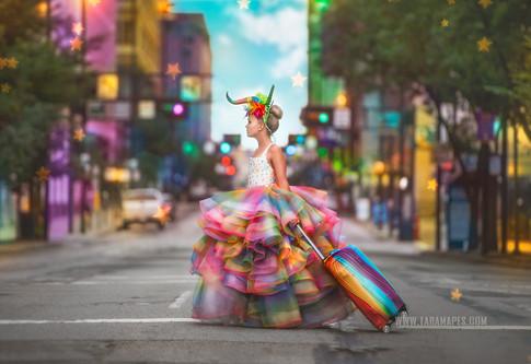 unicorn walk social media