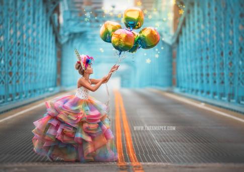 balloons bridge social media