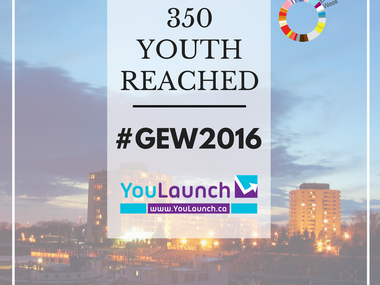 YouLaunch Engages Over 350 Youth During GEW