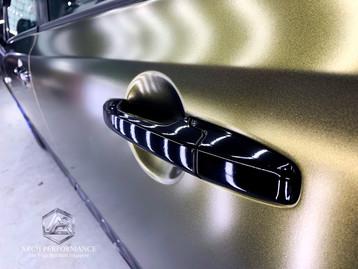 Civic FD Matte Metallic (Bond Gold) Handle