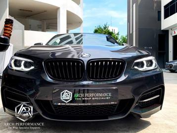 BMW M240I Niigata Black Fireworks Front..jpg
