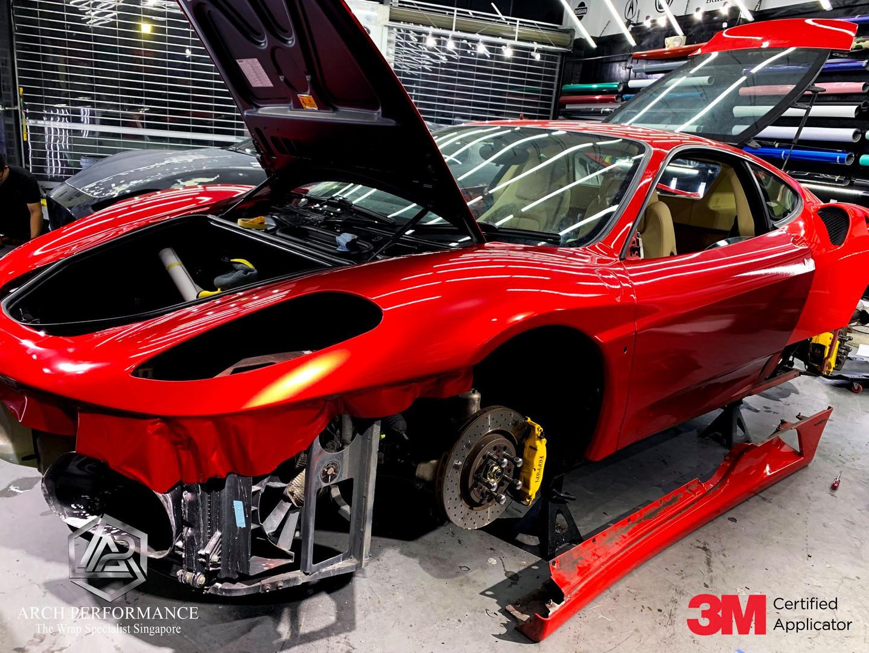 Ferrari F430 True Blood Red Side