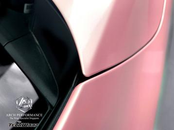 Kia Cerato Pink Sakura Closing