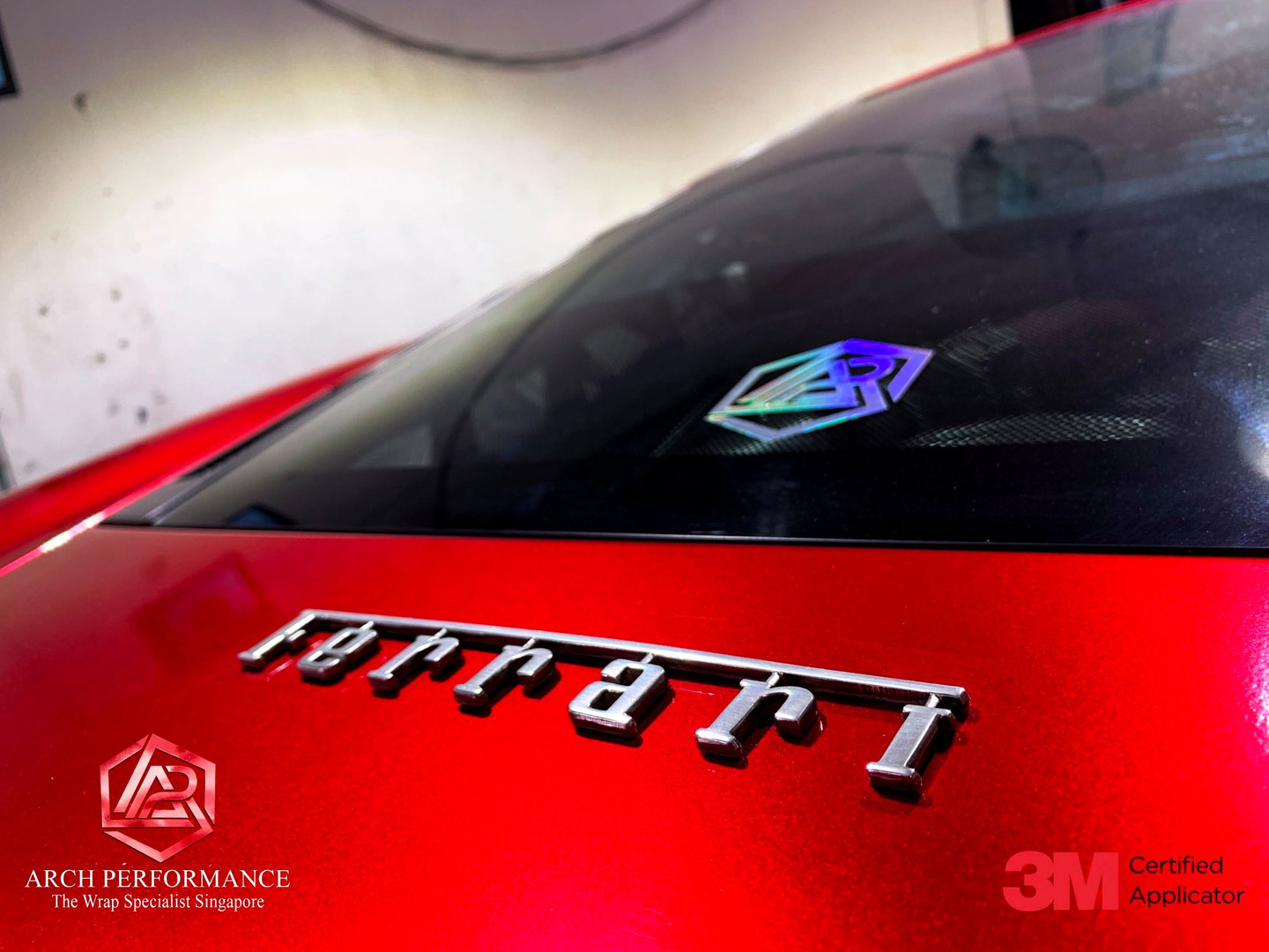 Ferrari F430 True Blood Red Logo