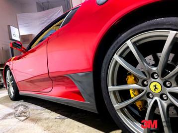 Ferrari F430 True Blood Red Details