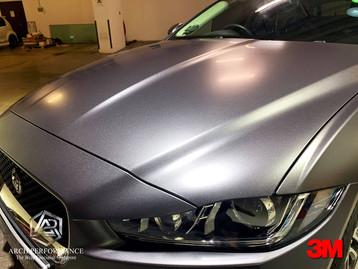 Jaguar XF Satin Dark Grey Bonnet