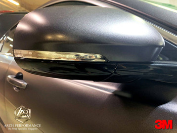 Jaguar XF Satin Dark Grey Mirror
