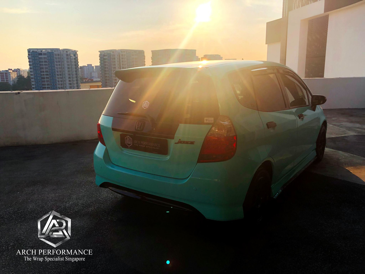 Honda Jazz Super Gloss Tiffany Rear