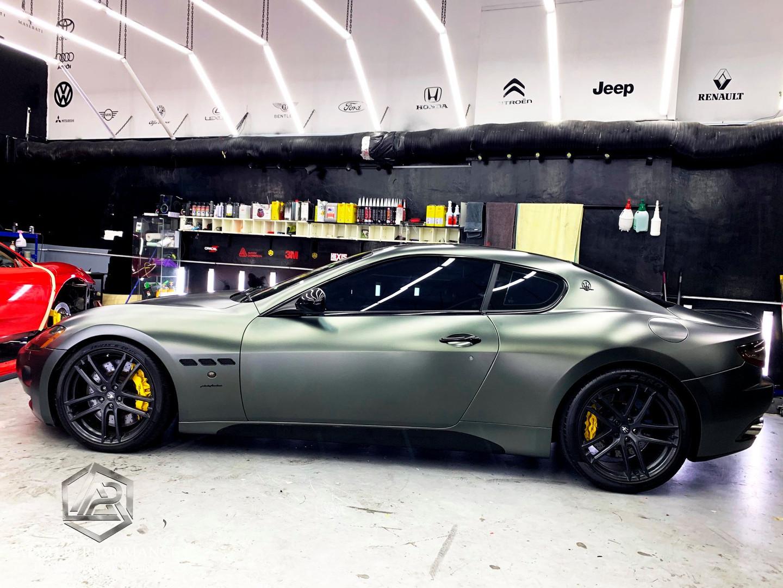 Maserati Matte Metallic Anthracite Grey