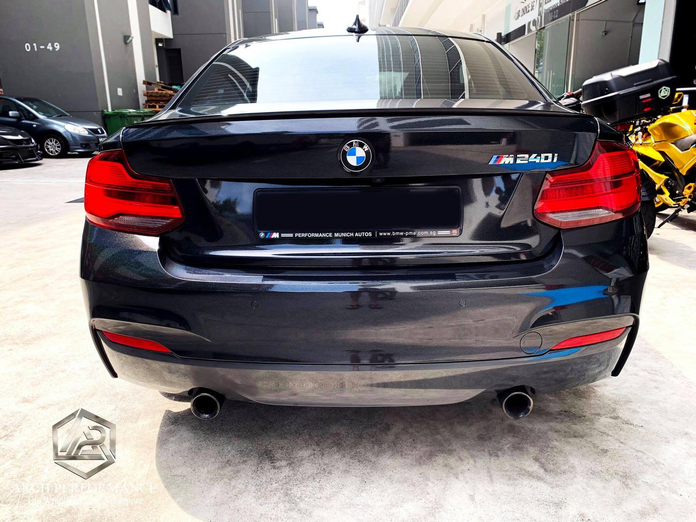 BMW M240I Niigata Black Fireworks Rear.jpg