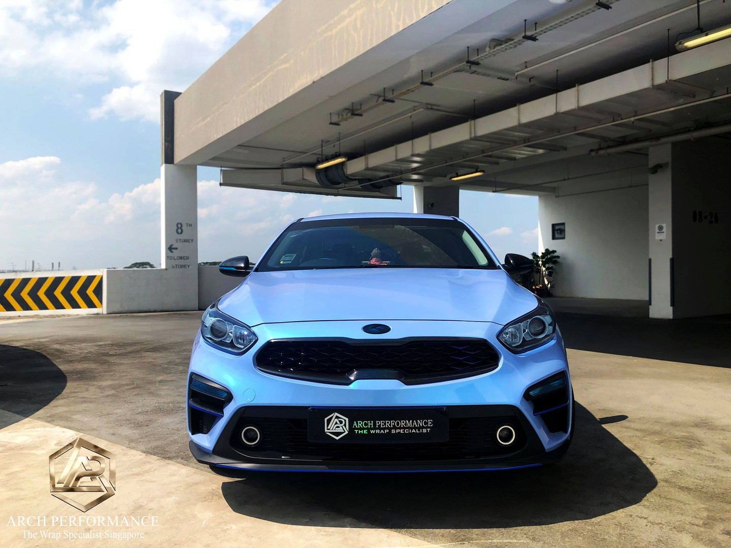 Kia Cerato Twin Color Candy Cyanine Blue