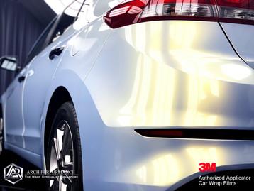 Hyundai Elantra Phantom Grey Gold Rear