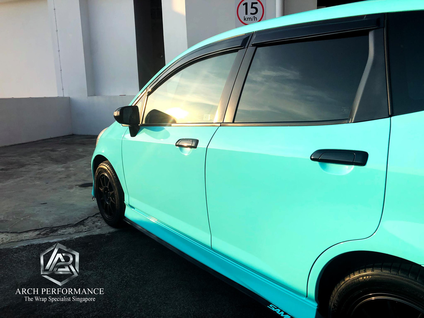 Honda Jazz Super Gloss Tiffany Left