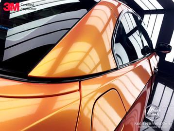 BMW 335I Magic Gold Pink Details