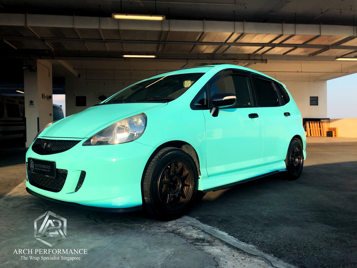 Honda Jazz Super Gloss Tiffany Side