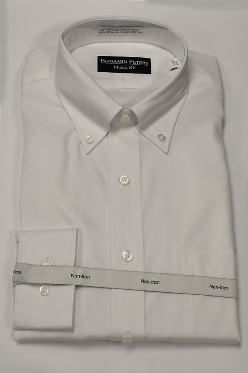 Benjamin Peters B.D. white dress shirt