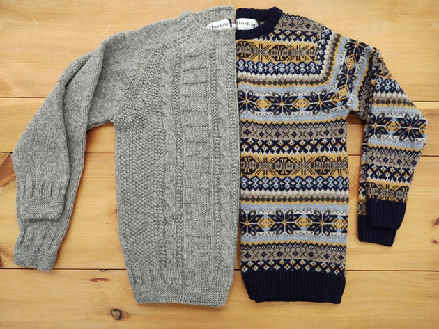 Beautiful knits from Harley of Scotland