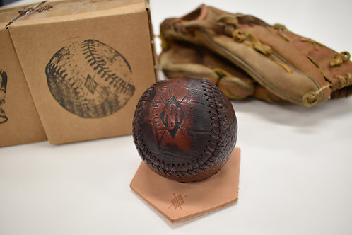 Luxury Leather Baseball With Base