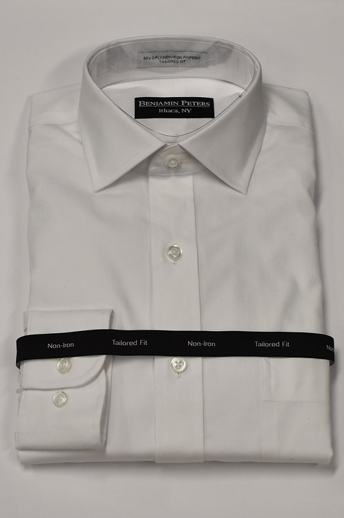 Benjamin Peters White Dress Shirt