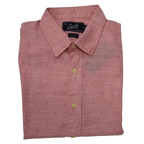 Pink Short Sleeve Sportshirt