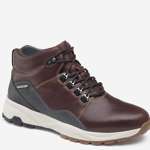Summit Plain Toe Boot Mahogany Full-Grain Leather
