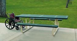 28018 - TuffClad ADA Picnic Table