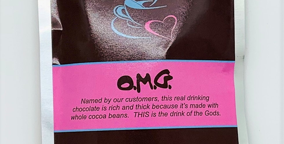 O.M.G. Drinking Chocolate (single portion)