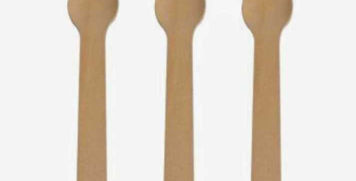 Compostable Wooden Forks - 20 pack