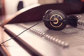 mixer, headphones