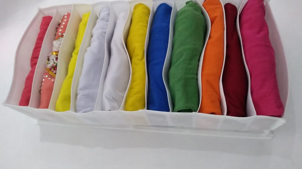 Organizador para camiseta
